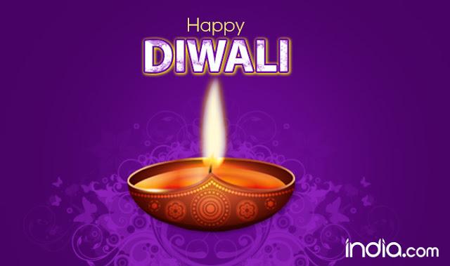 Happy Diwali with Diya 2018