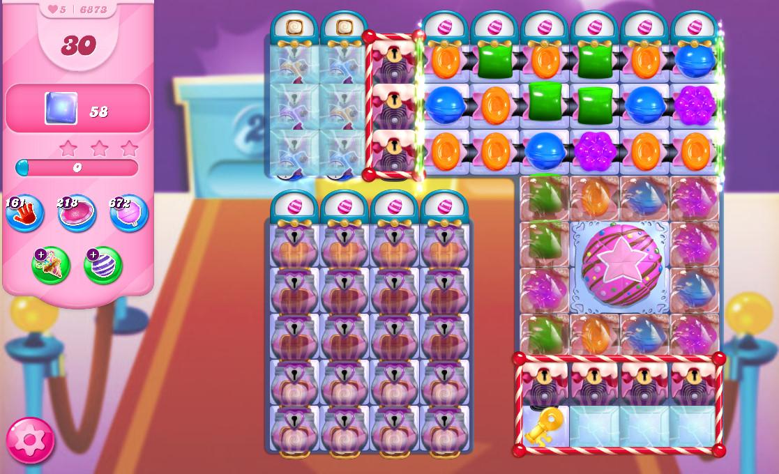 Candy Crush Saga level 6873