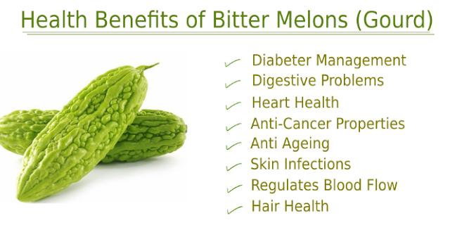 bitter melon, ampalaya, bitter gourd