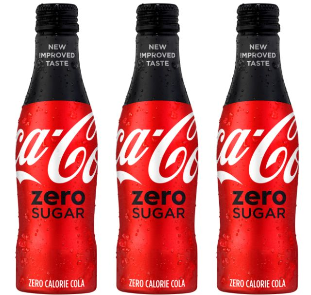coke zero replaces with new coca cola zero sugar brand. Black Bedroom Furniture Sets. Home Design Ideas