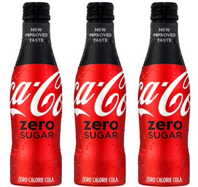 coke zero replaces with new coca cola zero sugar brand eating. Black Bedroom Furniture Sets. Home Design Ideas