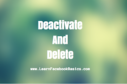 Deactivate and Delete Facebook Account #DeleteFacebook