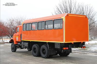 KrAZ 63221, osinobus