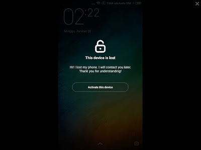 Unlock Akun Xiaomi