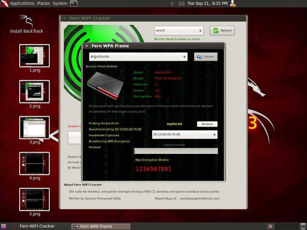 fern wifi cracker dictionary download