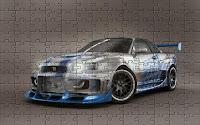 Nissan Skyline Gtr puzzle