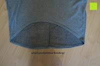schief geschnittene Rundung: ZANZEA Damen Lose Asymmetrisch Jumper Sweatshirt Pullover Bluse Oberteile Oversize Tops