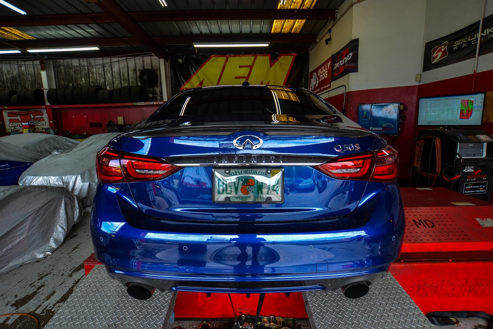 Circuit Motorsports: Flat-Out: Infiniti Q50 and Q60 Dyno-tuning with