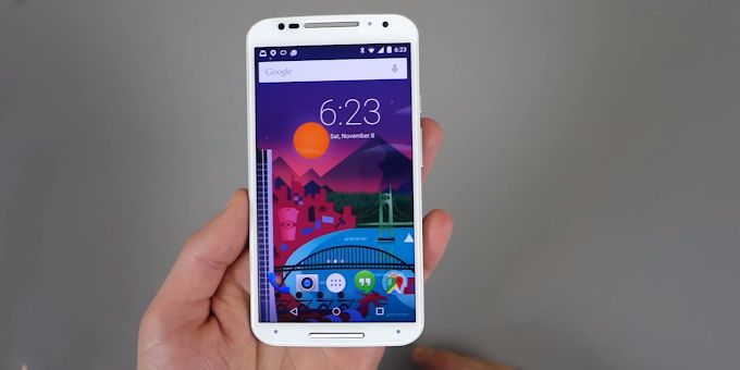 Motorola Moto X running Android 5.0 Lollipop demonstrated