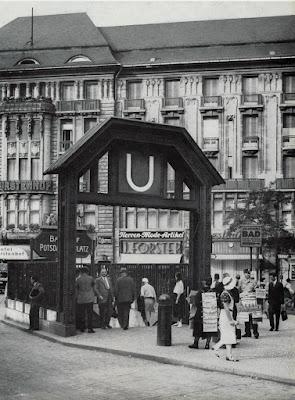 Berlin U-bahn Potsdamerplatz 1924
