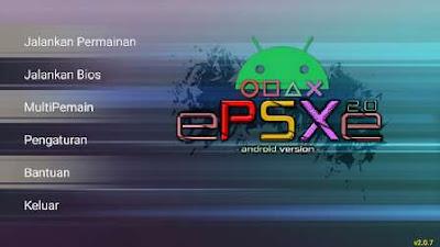 Cara Setting Layar ePSXe Fullscreen