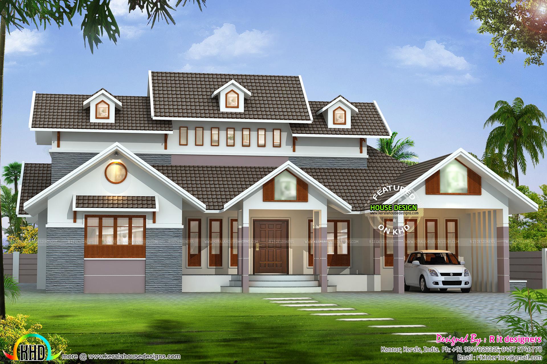 See floor plans read more please follow kerala home design - House Details Read More Please Follow Kerala Home Design