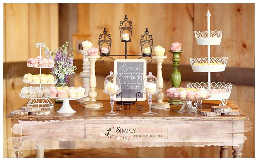 Wedding Cupcake Ideas: Real Rustic Picnic Wedding: Michelle & Paul