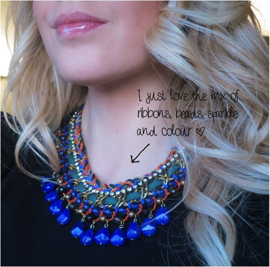 Zara+Statement+RibbonBeads+Necklace Jewellery Trend: The Statement Necklace