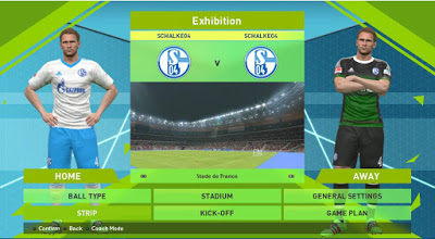 Ramin_cpu and Peskitsalin PES 2016 Schalke 04 2016/2017 Kitpack