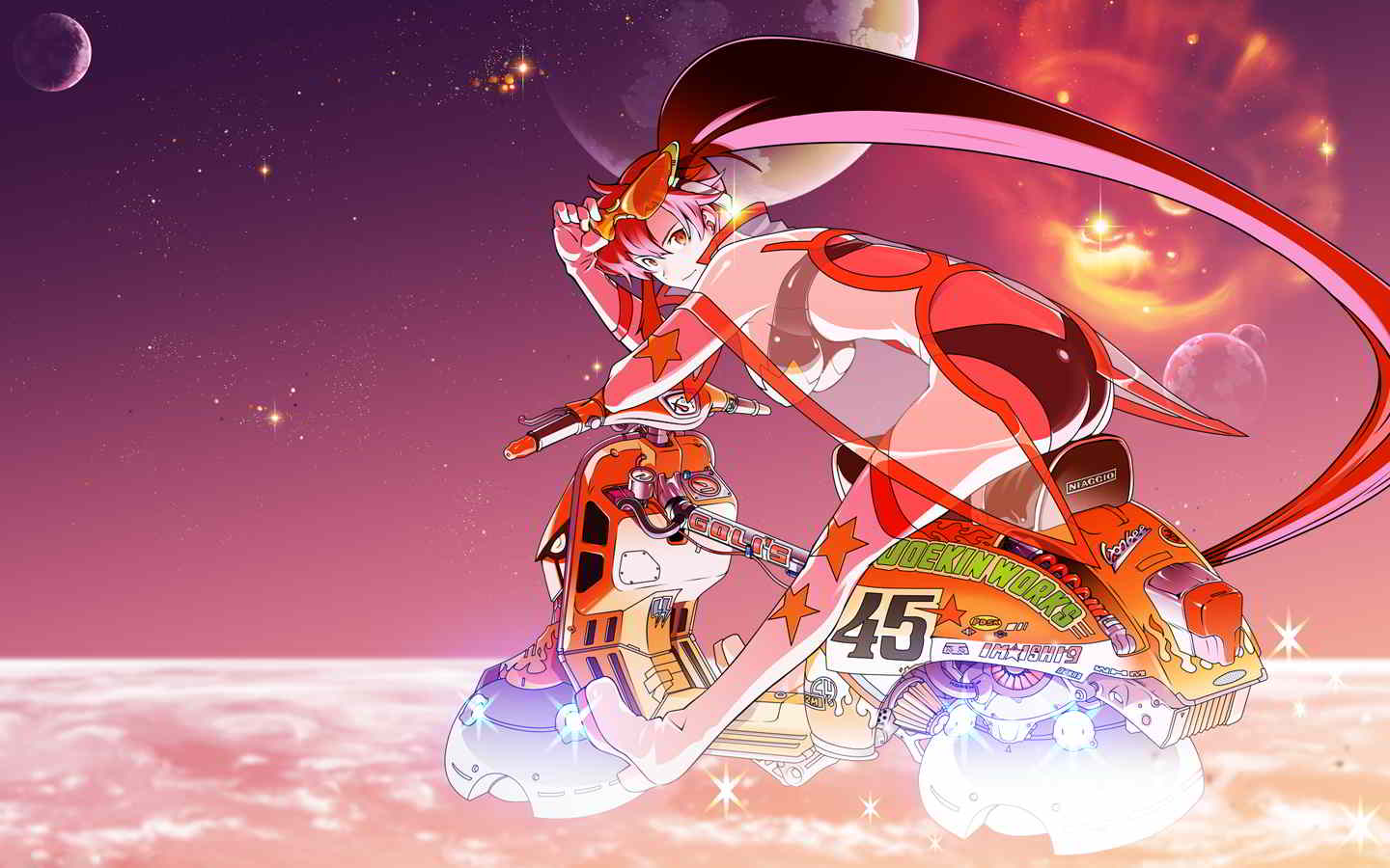 Khairul 39 s anime collections 126 gurren lagann anime - Gurren lagann wallpaper ...