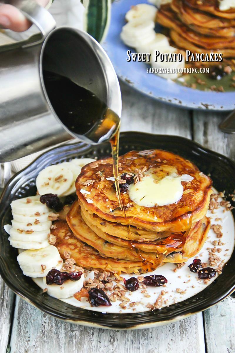Sweet Potato Pancakes (Gluten Free)