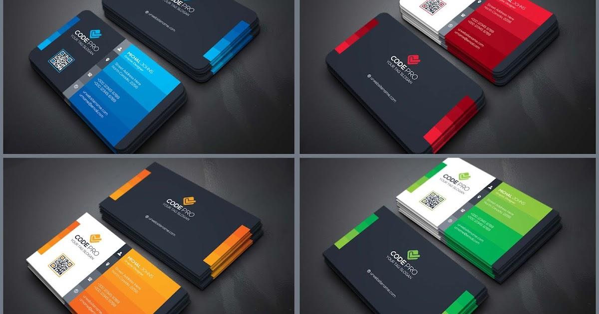 Best 04 Business Cards Design PSD Templates - StudioPk