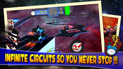 Super Grandpa Racing gameplay
