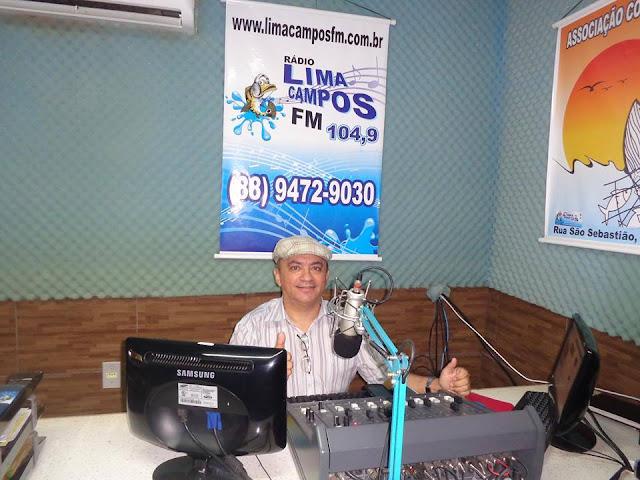 PADRE BETO NA RÁDIO LIMA CAMPOS FM