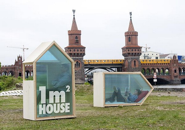 World's Smallest One-Sqm-House in Germany, World Strangest Homes