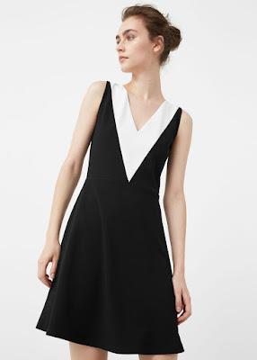 Robe bicolore - 35,99€