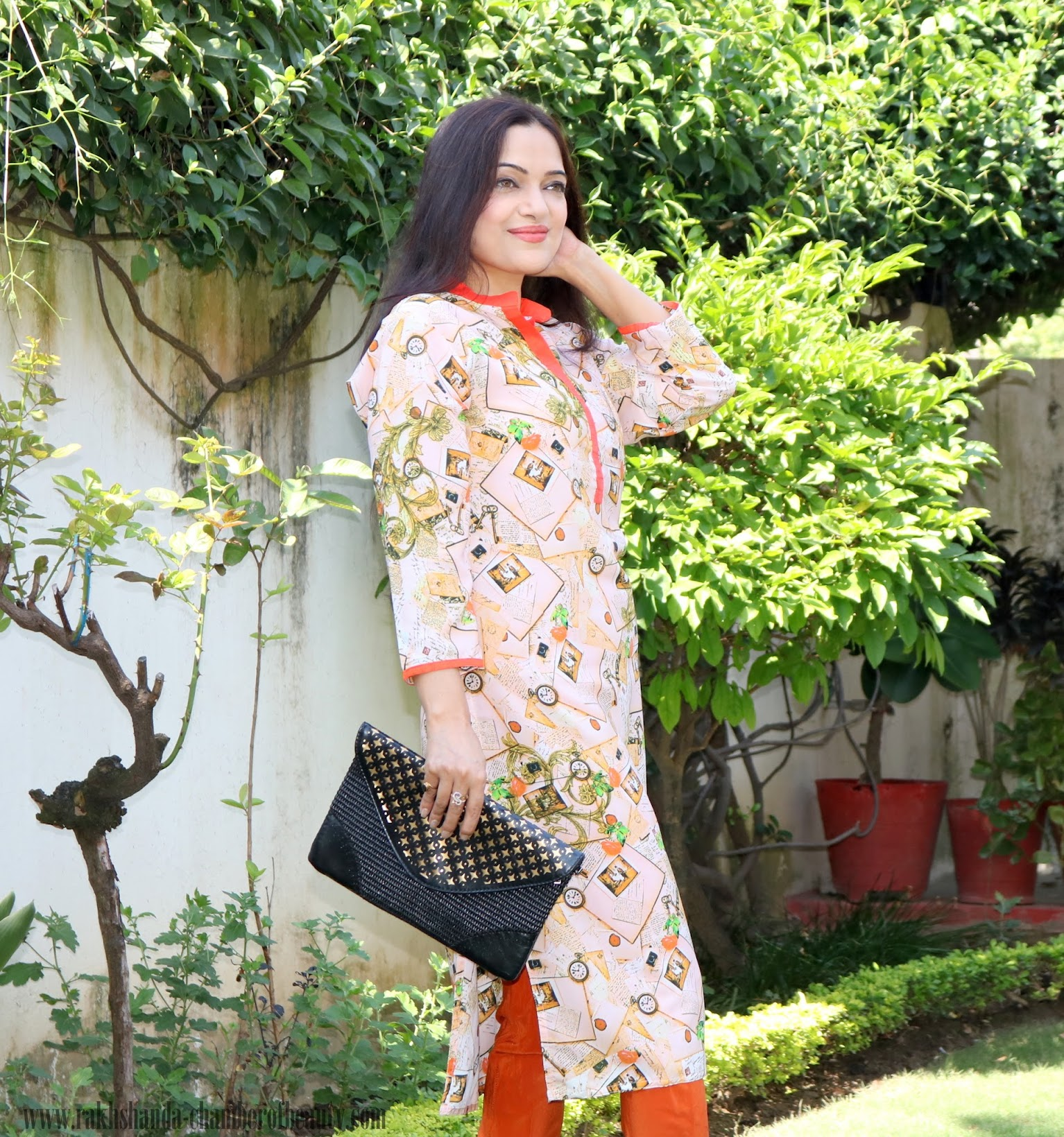 #Traditionmyway with Jabong.com-OOTD, How to wear printed kurtis, Diwali outfit ideas, Amiclubwear heels, Indian fashion blogger