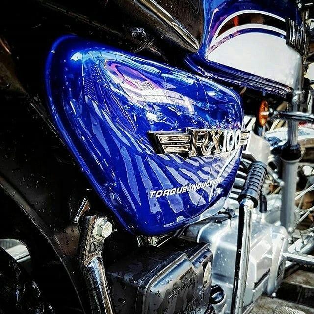 Yamaha Rx 100 HD wallpaper