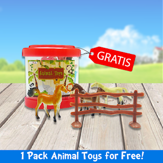 Free Giveaway - 1 Pack Toys