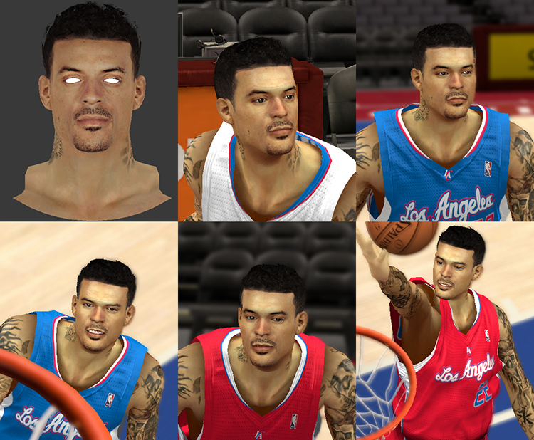 Matt Barnes Face & Tattoos
