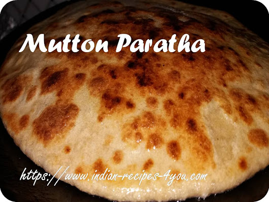 mutton paratha recipe in hindi by Aju - Indian Recipes 4 you
