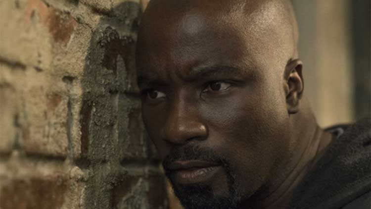 Mike Colter stars as Luke Cage in the Now You're Mine episode.