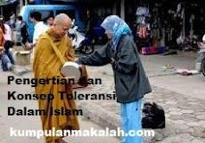 Pengertian dan Konsep Toleransi Dalam Islam