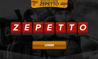 Cara ganti Password Akun PB Zepetto