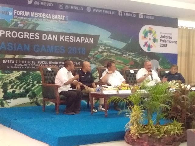 Palembang Buktikan, Alex Noerdin: Asian Games Zero Conflict