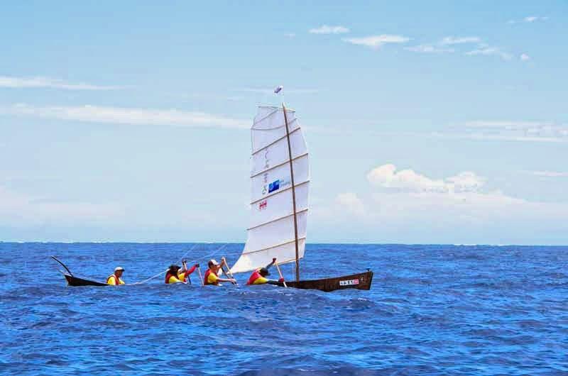 Umimaru sabani crew at sea
