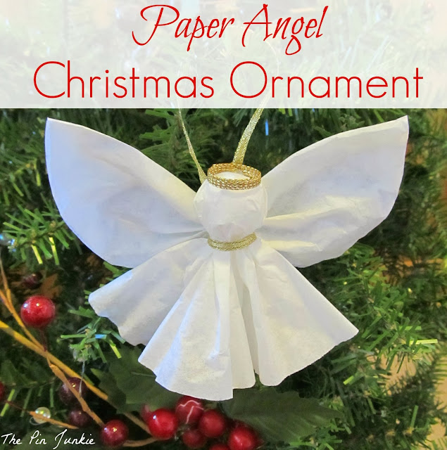 DIY Paper Angel Ornament