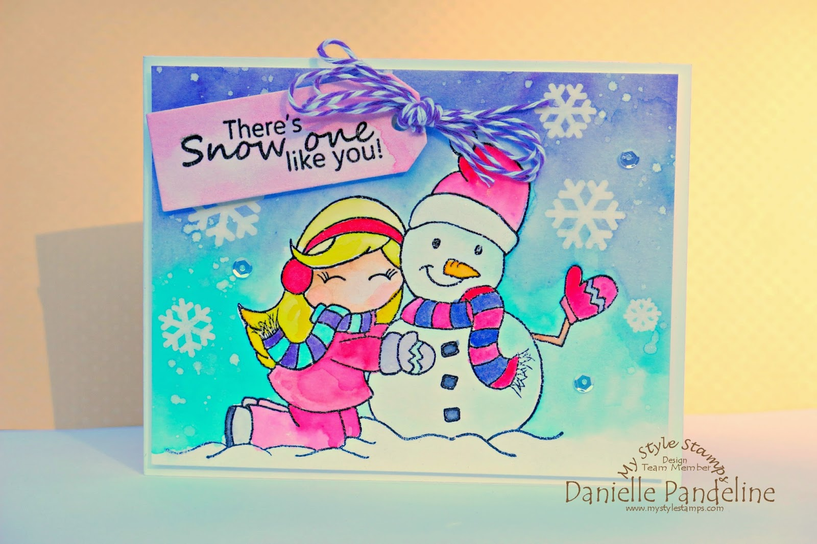 Snow One Like You | Featuring My Style Stamps | Created by Danielle Pandeline