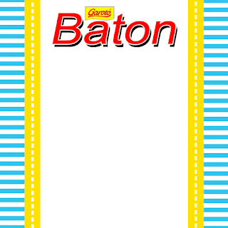 Blue and Yellow Free Printable  Labels.