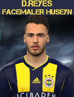 PES 2017 Faces Diego Antonio Reyes by Facemaker Huseyn