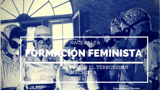 Formación feminista online
