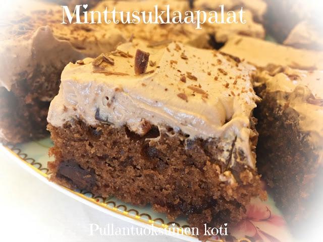 #mokkapalat #suklaapalat #suklaakakku #brownies #chocolate #mintchocolate #minttusuklaa #herkkuja #suklaa
