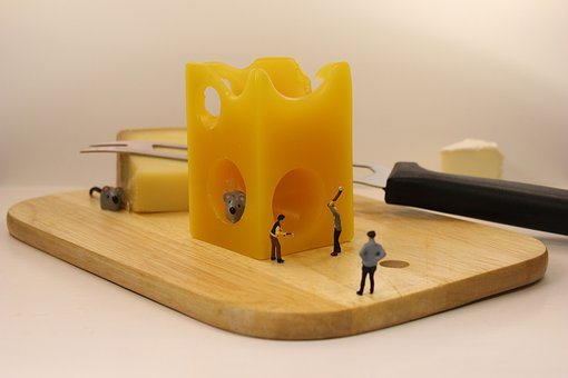 What to do if someone moved your cheese?