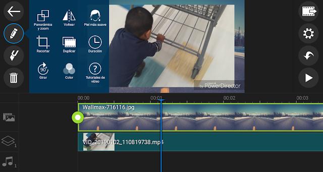 editor de video PowerDirector