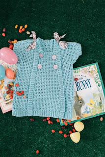 Crochet baby items for spring