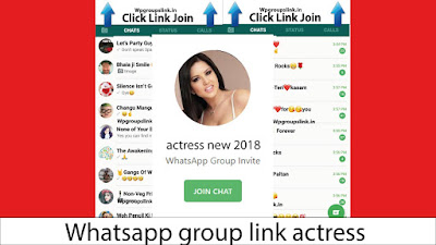 Whatsapp group link actress
