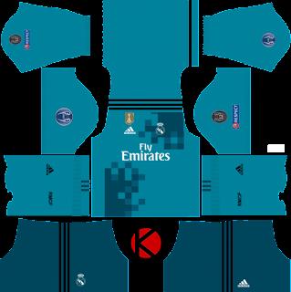 UEFA Champions League Real Madrid Kit