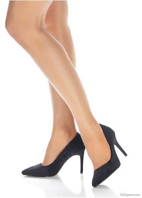 Zapatos negro tracon