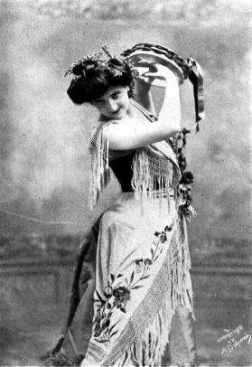 French soprano Emma Calvé 1858-1942
