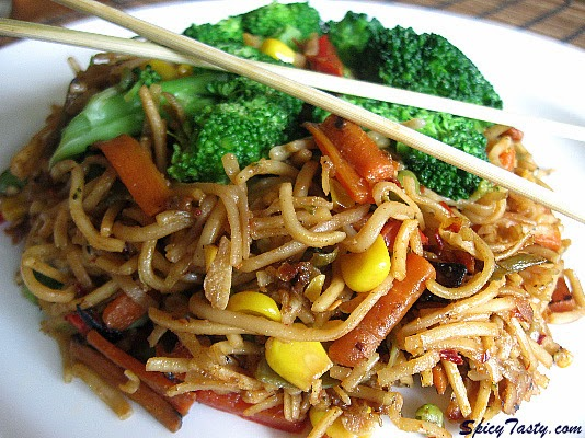 Chinese Fried Noodles Recipe